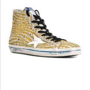 Golden Goose Deluxe Brand Francy Glitter Sneakers